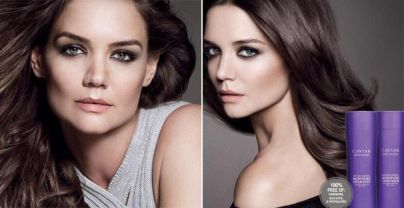 KATIE HOLMES FOR CAVIAR