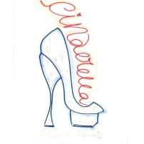 Cinderella by Charlotte Olympia Sketch