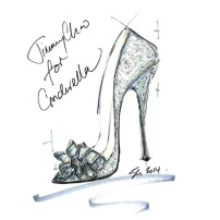 Cinderella by Jimmy Choo Sketch