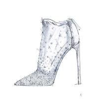 Cinderella by Stuart Weitzman Sketch