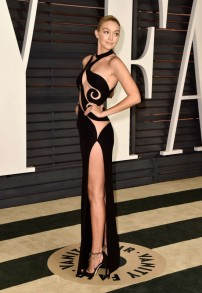 Gigi-Hadid at Vanity Fair Oscar Party