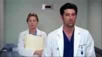 Dopo aver trascorso la notte insieme, Meredith e Derek si incontrano in ospedale e scoprono di essere colleghi.